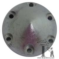 63mm Max Prop Universal Zinc Anode with Retainiing Ring (63M4R)