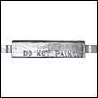 AZSS-A Weld-On Aluminum Anode with Aluminum Strap (AZ-3A)