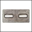 Slotted AZHC-5 Aluminum Anode (AZHC-5S)