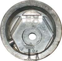 Azimut 50mm Propeller Zinc Anode (AS-50)