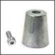 Azimut 50mm Propeller Zinc Anode (AS50)