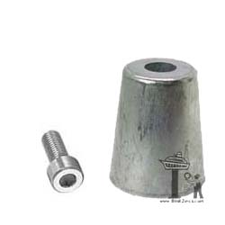 Azimut 50mm Propeller Shaft Zinc Anode