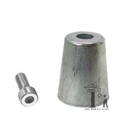 Azimut 55mm Propeller Shaft Zinc Anode
