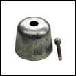 BP-1210 Zinc Anode for Vetus 220 Bow Thruster