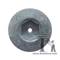 BP-195A Aluminum Anode for Vetus 125, 130 and 160 Bow Thrusters