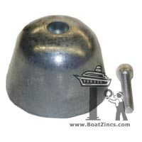 BP-195 Zinc Anode for Vetus 125, 130 and 160 Bow Thrusters (equivalent to SET0151)