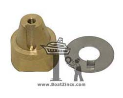 Beneteau Propeller Mounting Nut and Locking Washer