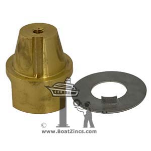 Beneteau Propeller 35mm Mounting Nut and Locking Washer