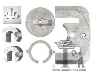 Bravo One Aluminum Anode Kit