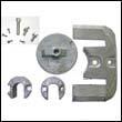 Bravo II & III Aluminum Anode Kit
