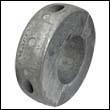 """Martry C-12AL Collar Aluminum Anode - 2-1/2"""" Shaft"""