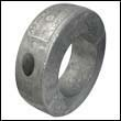 "Martyr C-13AL Collar Aluminum Anode - 3"" Shaft"