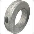 "Martyr C-15AL Collar Aluminum Anode - 4"" Shaft"