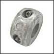 "Martyr C-4AL Collar Aluminum Anode - 1-1/8"" Shaft"
