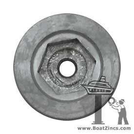 BA.110.90007 Zinc Anode for Craftsman Marine Thruster