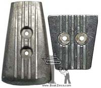 Volvo Penta DPS Zinc Anode Kit (3883728 and 3841427)