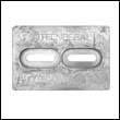 Mini Divers Dream Aluminum Anode (ZHC-4A, ZHC4A, ZHC 4A)
