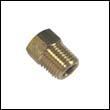 E-0 Engine Zinc Anode Brass Plug - 1/4 NPT