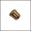 E-1 Engine Zinc Anode Brass Plug - 3/8 NPT