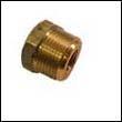 E-7 Engine Zinc Anode Brass Plug - 1 NPT