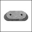 123009A Johnson/Evinrude Small Outboard Aluminum Anode