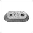 327606 Johnson/Evinrude Outboard Zinc Anode
