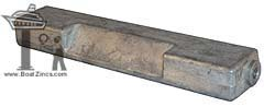 5007089A Johnson/Evinrude Power Trim Aluminum Anode