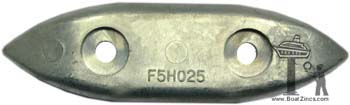 F5H025 Force Outboard Zinc Anode