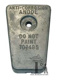 F707485 Force Gear Housing Zinc Anode