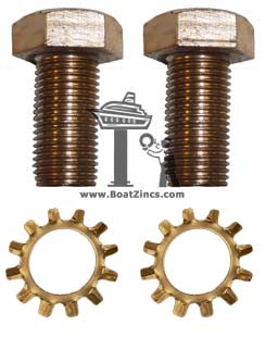 Bronze Mounting Screws (set)