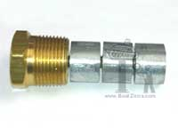 Brass Plug Assembled with 3 GP-1050 Elements
