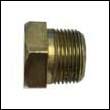 "1"" NPT Brass Plug for ZDM-1050 Engine Zinc Anodes"