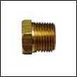 "3/8"" NPT Brass Plug for ZDM-500 Engine Zinc Anodes"