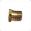 "1/2"" NPT Brass Plug for ZDM-625 Engine Zinc Anodes"