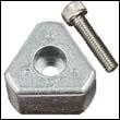 "14074100A Aluminum Anode for Gori 22-26"" 3-Blade Propellers"