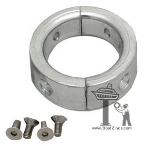 "15527500 Zinc Anode Ring for Gori 15"" and 16.5"" 3-Blade Saildrive Propellers"