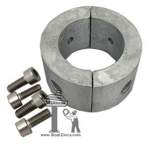 "15530000 Zinc Anode Ring for Gori 18"" and 20"" 3-Blade Propellers"