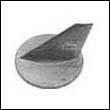 41107-ZW1-003-ZA Honda Outboard Trim Tab Zinc Anode (31640)