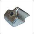 324636 Johnson/Evinrude 4-8 HP Zinc Anode