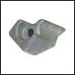 334451A Johnson/Evinrude 4-8 HP Aluminum Anode (432397A)