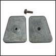 434029 Johnson/Evinrude 20-35 HP Zinc Anode (two required)