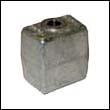 436745A Johnson/Evinrude Gearcase Aluminum Anode (393023A)