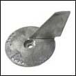 5032929 Johnson/Evinrude 60-140 HP Trim Tab Zinc Anode