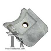 Z-1 Zinc Anode for Walter Keel Cooler