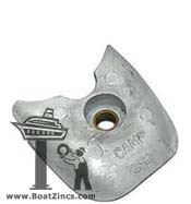 Z-2 Zinc Anode for Walter Keel Coolers