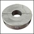 "LC-3 Micro Thin Collar Zinc Anode - 1"" Shaft"
