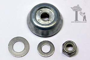 Lewmar 589350 Zinc Anode Kit for 185TT