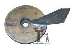 Camp Company Mercury//Force 60-70HP Zinc Anode 17264