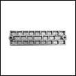 43396 Mercury Waffle Plate Zinc Anode