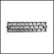 43396A Mercury Waffle Plate Aluminum Anode